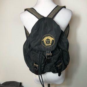 VERSACE vintage nylon backpack